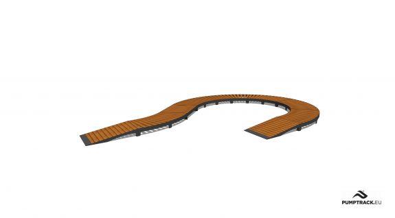 Bicycle track - Larix W20