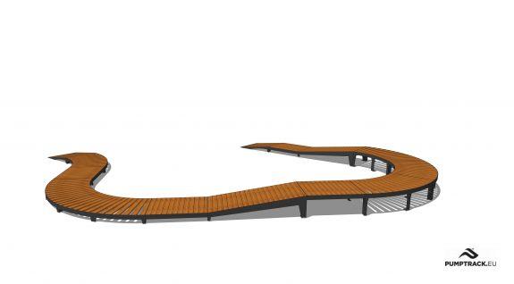Bicycle track - Larix W22