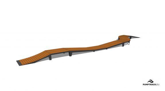 Bicycle track - Larix W25
