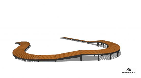 Bicycle track - Larix W28