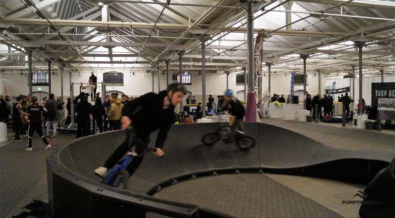 A mobile bike track created from modules Copenhagen
