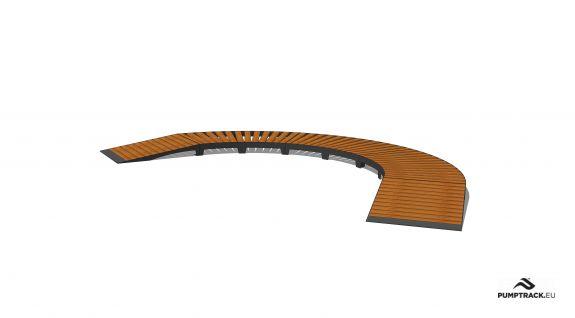 Cykelsti - Larix W15