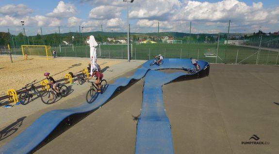 Bелосипедний розважальний майданчик Dukla