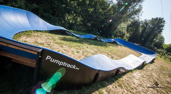 Composite Pumptrack für jeden Benutzer angepasst