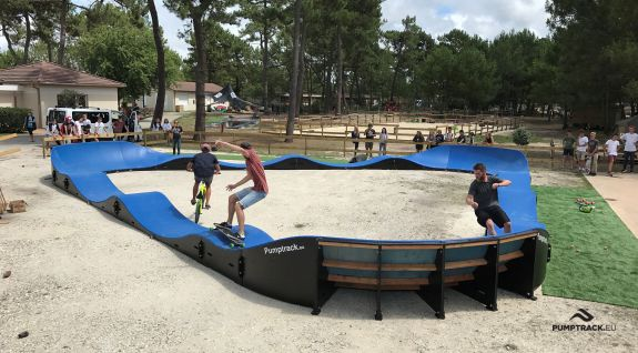 Modular pumptrack in Montalivet (France)