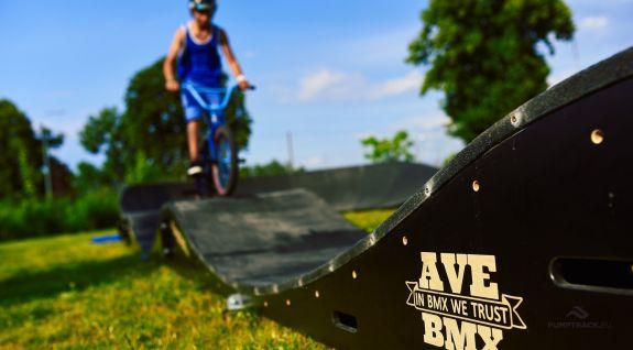 Een niet-stationair fietspad is een attractie van het evenement