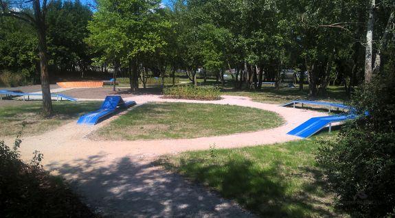 bicycle playground