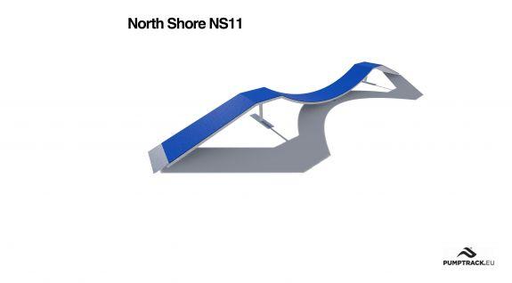 Render kładki North Shore NS11
