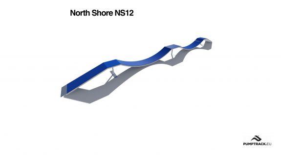 Wizualizacja kładki North Shore NS12