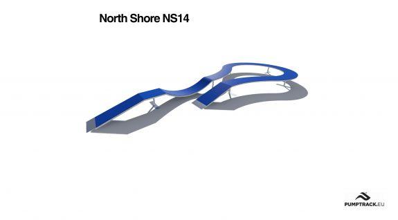 Render kładki North Shore NS14