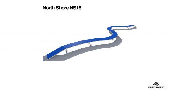 Element toru rowerowego North Shore NS16