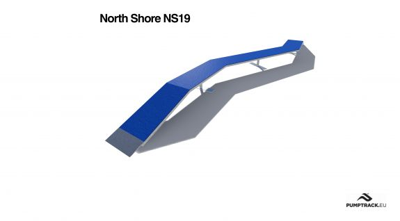 Cycling track footstep NS19 North Shore