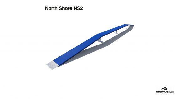 Render toru rowerowego North Shore NS2