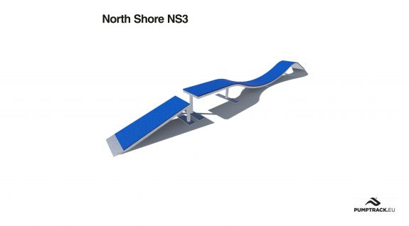 North Shore NS 3 -  Element toru rowerowego