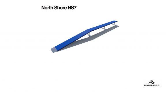 Render kładki North Shore NS7
