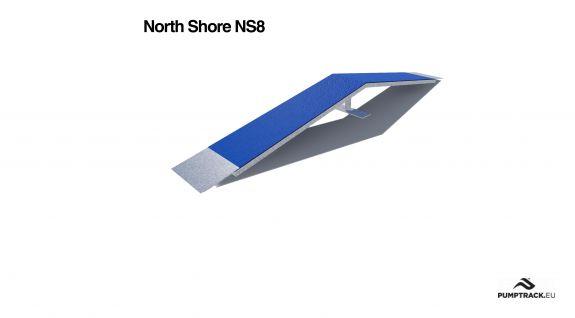 Render kładki North Shore NS8
