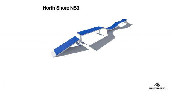 Render kładki North Shore NS9