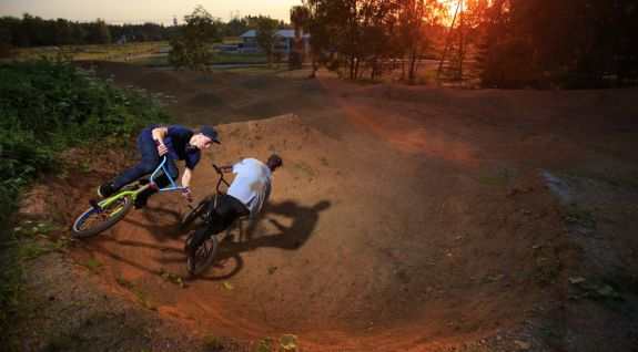 Pumptrack in Olkusz (Poland)