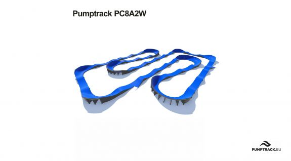 Pumptrack composito