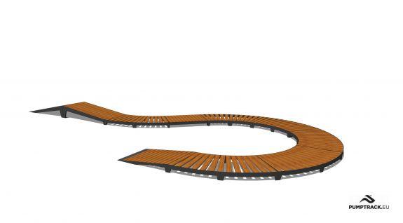 Piste cyclable - Larix W21