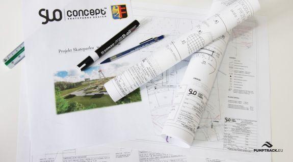 Opracowanie projektów pumptracków