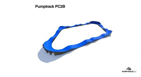 Traseu pumptrack PC2B