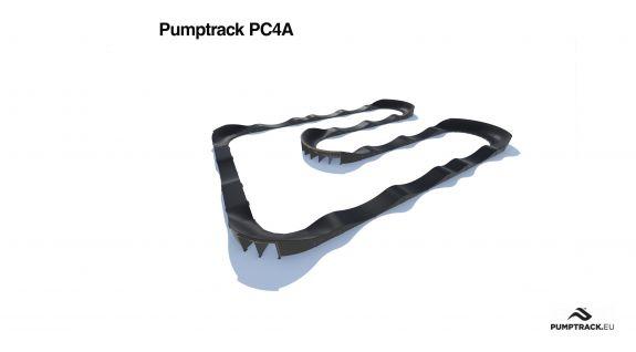 Traseu pumptrack PC4A