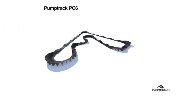 Traseu pumptrack PC6