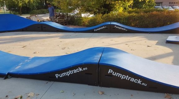 Mobile Pumptrack PC1 in Italia